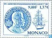 Postzegels - Monaco - Grote Prijs Oceanografie