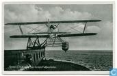 Fokker C.11W wordt per catapult afgeschoten