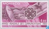 Postage Stamps - Monaco - Int. year of Communication