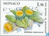 Postzegels - Monaco - Zeldzame planten