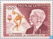 Postzegels - Monaco - Coubertin