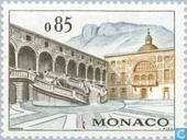 Postage Stamps - Monaco - Buildings