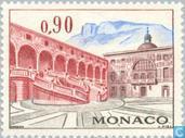 Postzegels - Monaco - Gebouwen