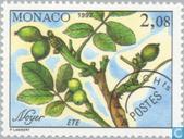 Briefmarken - Monaco - Jahreszeiten