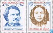 Honoré de Balzac 1999 200g (MON 902)