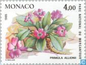 Postage Stamps - Monaco - Rare Plants