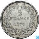 France 5 francs 1870 (A - without legend)