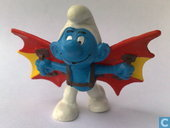 Flying smurf