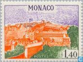 Timbres-poste - Monaco - Bâtiments