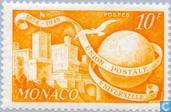Postage Stamps - Monaco - 75 years of UPU