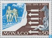 Postage Stamps - Monaco - Allergy-drugs