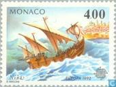 Postage Stamps - Monaco - Europe – Discovery of America
