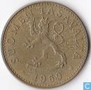 Finlande 50 penniä 1969