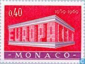 Postage Stamps - Monaco - Europe – Temple