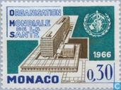 Postage Stamps - Monaco - WHO Headquarters Opening