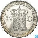 Coins - the Netherlands - Netherlands 2½ gulden 1940