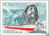 Postage Stamps - Monaco - Europe – Great discoveries