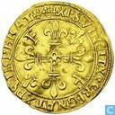 Frankrijk gouden écu 1519 (Lyon)