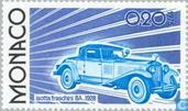 Postage Stamps - Monaco - Car Development