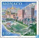 Postage Stamps - Monaco - Prince Rainier III Jubilee