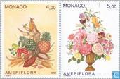 1992 AMERICAN FLORA Horticultural Exhibition (MON 701)