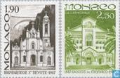 1987 Sat. Dévote en kathedraal (MON 572)