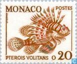 Postzegels - Monaco - Zeedieren
