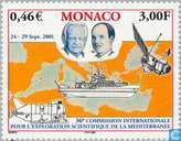 Postage Stamps - Monaco - Assembly CIESM