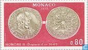 Postzegels - Monaco - Numismatiek