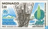 Postzegels - Monaco - Milieubescherming