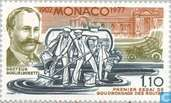 Postage Stamps - Monaco - Paving