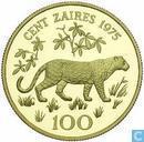 Zaïre 100 zaires 1975