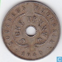 Southern Rhodesia 1940 1 penny