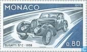 Postage Stamps - Monaco - Car Development