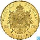Frankrijk 100 francs 1869 (A)