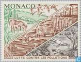 Postage Stamps - Monaco - Combating environmental pollution
