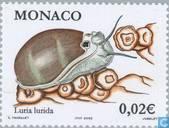 Timbres-poste - Monaco - Les fleurs et les animaux