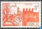 Tuinen en muur van Fez