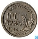 France 100 francs 1954 (with B)