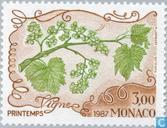 Briefmarken - Monaco - Die Vier Jahreszeiten