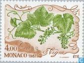 Postage Stamps - Monaco - The Four Seasons