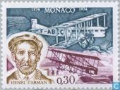 Postage Stamps - Monaco - Farman
