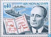 Postzegels - Monaco - Marconi