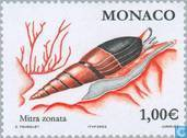 Postage Stamps - Monaco - Flowers and animals