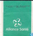 Tea bags and Tea labels - Alliance Santé - Camomilla