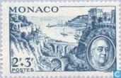 Postzegels - Monaco - Franklin D. Roosevelt