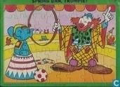 Jigsaw puzzles - Trompie - Spring dan, Trompie!
