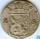 Coins - Holland - Holland 2 stuivers 1791