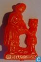 Rotkäppchen (met moeder) [rood]
