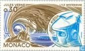Timbres-poste - Monaco - Verne, Jules